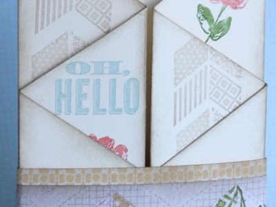 Luvin Life Fridays Stampin Up Zig Zag Card