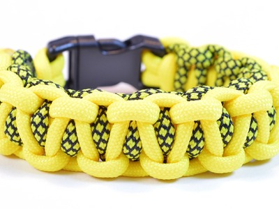 "Make the ""Back to Back Bar"" Paracord Survival Bracelet - BoredParacord"