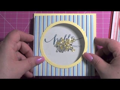 More Sequin Shaker Cards (with a mini tutorial)