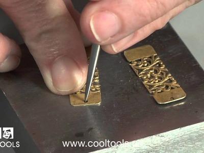 Patterned Brass Earrings Project
