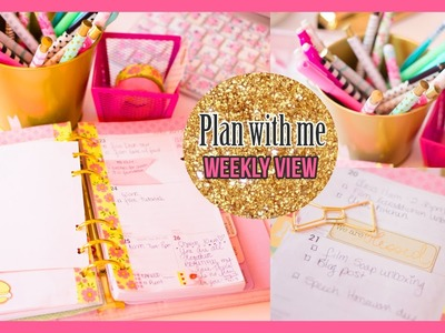 Plan with me, April Weekly View Collab with Manda31409