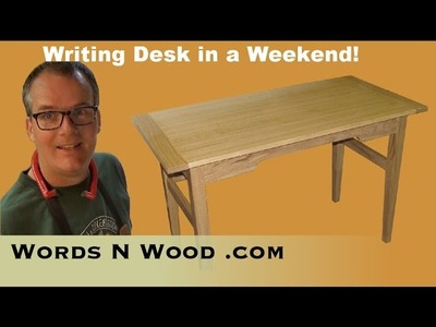 Quick Writing Desk, in the Shaker Style  (WnW #32)