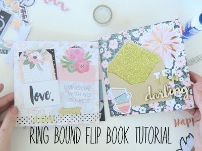 Ring bound flip book tutorial