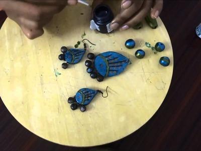 Terracotta Jewellery Making   Part 2