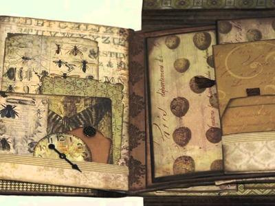 Tim Holtz Folio: Wallflower Mini Album