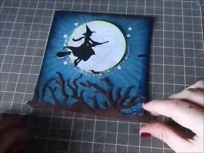 2014 Halloween Card Process #2