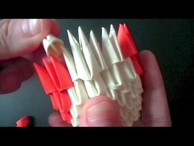 3D origami: hamtaro