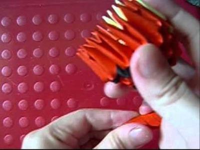 3d origami tigger 1