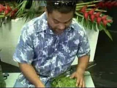 (3of3) The Kama Family Weaving Method with Sam Kama, Jr.  Hilo Hawaii