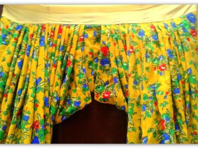 """8. Making """"Paunchas"""" - ★★Salwar Kameez with Darts and embroidery★★ PUNJABI"""