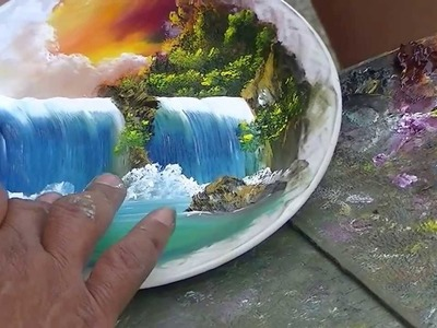 Amazing hand painting in San Christobal, Mexico