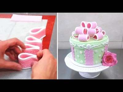 BOW CAKE - HOW TO  by CakesStepbyStep