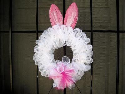 Bunny Ears Wreath ~ Featuring Miriam Joy