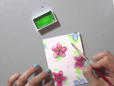 Card Making With Vellum and Foil Die Cuts