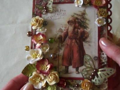 Christmas Tealight Card