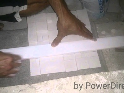 Como colocar placas de gesso 3d - Passo a passo. how to put plaster board 3d step by step