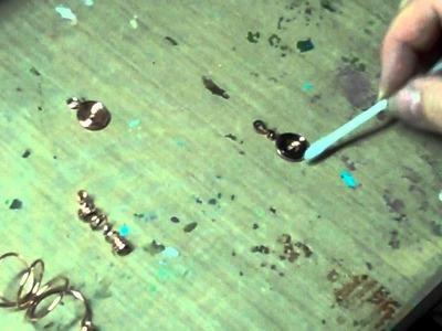 Darkening Copper Wire:  A Torch, Liver Of Sulfur, Swellegant