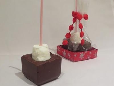 Decadent Hot Chocolate Twizzle Stick - Recipe Inspiration.