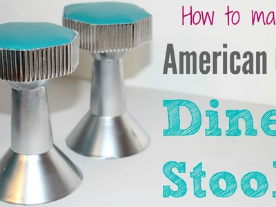 DIY American Girl Doll Diner Stools