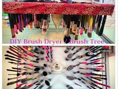 DIY Brush Dryer. Brush Tree