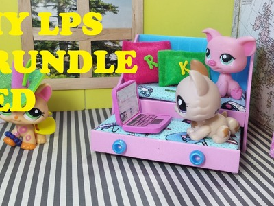 DIY LPS Doll Trundle (Pull out) Bed
