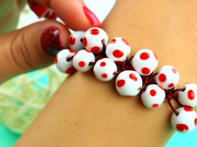 DIY Shamballa Bead Bracelet Tutorial