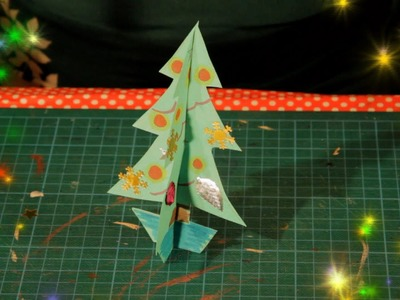 Easy 3D Christmas Card Tutorial - Ornament Craft & Card Making for Children