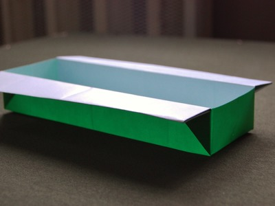 Easy Origami Long Box