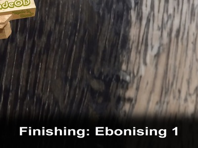 Ebonising Wood with steel wool and vinegar