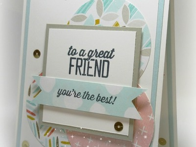 For a Great Friend card with Dawn