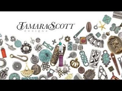 "Free ""Bella"" Necklace Tutorial Preview Tamara Scott Designs"