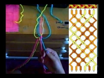 FriendShip Bracelet Tutorial #1- Braided Like (#1698)