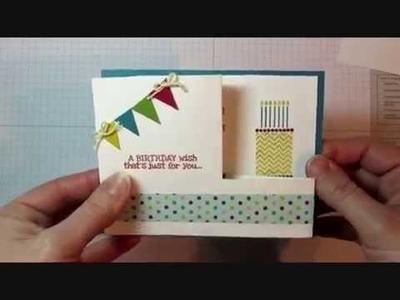 Fun Fold: Pull Out Card