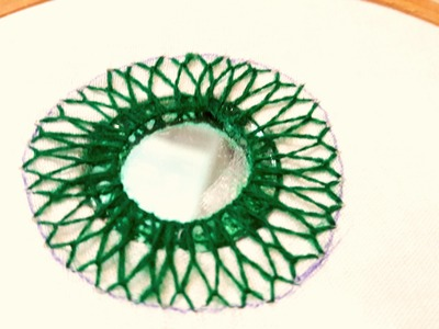 HAND EMBROIDERY : MIRROR WORK(SHISHA) #3