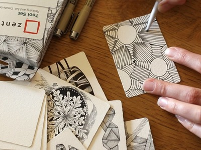 How to Draw the Zentangle® Tangle 'Arukas'