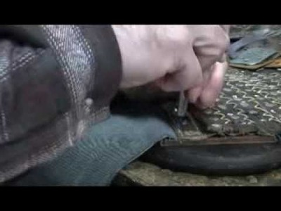 How to: Make a Studded Leather Greave