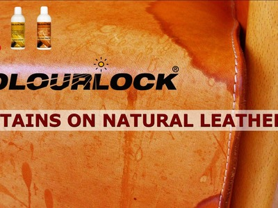 How to remove stains on natural leather - www.colourlock.com