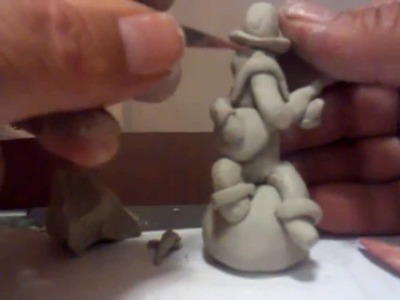 How To Sculpt Miniature Figures In Clay