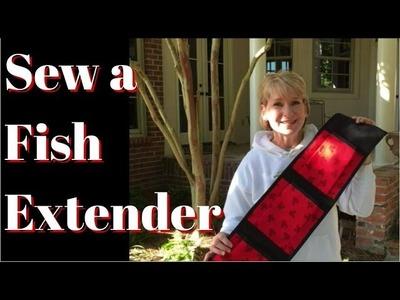 How to Sew a Fish Extender (aka Closet Organizer)