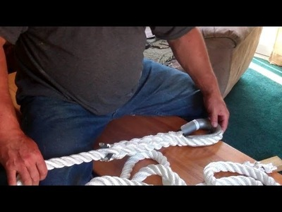 How to Splice a Mooring Line