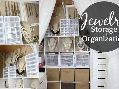 Jewelry Storage & Organization. Closet Tour. Jewelry Collection