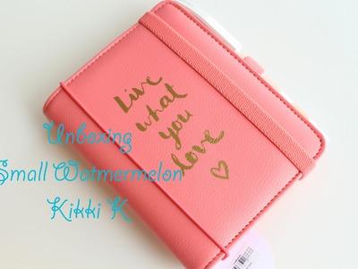 Kikki k Unboxing - Watermelon❣❣  Pimp my Planner