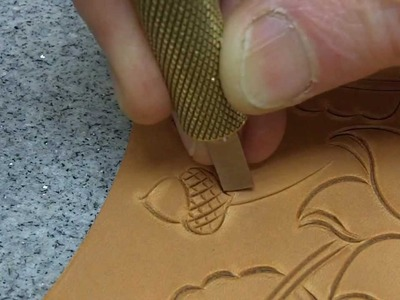 Leather carving how to use a swivel knife