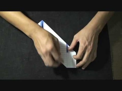 Letter folding instructions (square style)