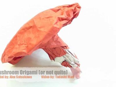 Mushroom Origami (Alex Satsukawa)