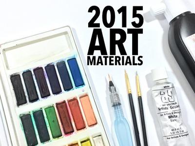 My Art Materials 2015