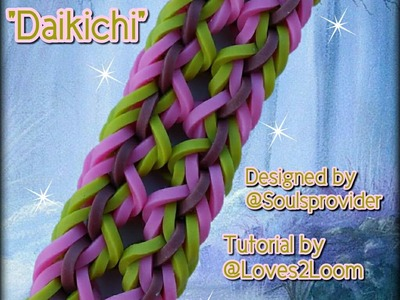 "New ""Daikichi"" Hook Only Bracelet. How To Tutorial"
