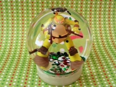 Ninja Turtles Toy Glow-In-the-dark Snow-globe