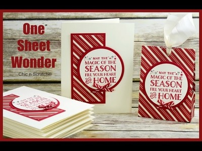 One Sheet Wonder - Featuring Cozy Christmas Stamp Set