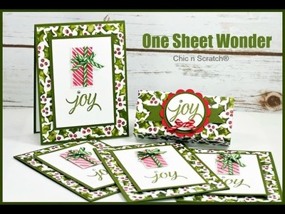 One Sheet Wonder - featuring Your Presents by Stampin' Up!